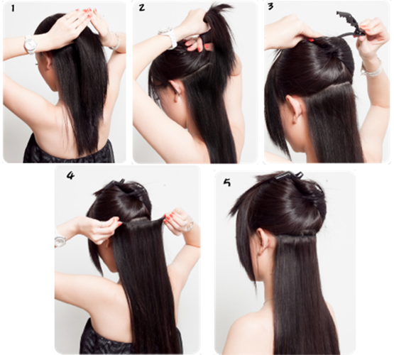 How to Wear Clip-in Hair Extension