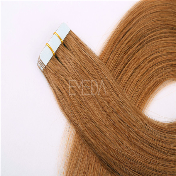 Tape in hair extension high quality  human hair extensions wholesale WJ012