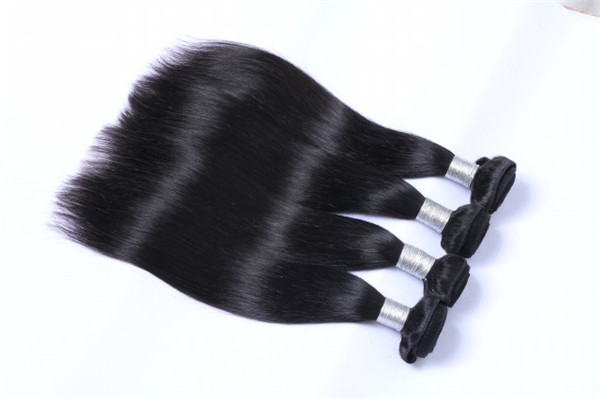 Human hair extension shops best quality hair natural color straight hair WJ047