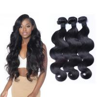 100% Brazilian hair body wave human hair extensions Virgin human hair weft  HW0092