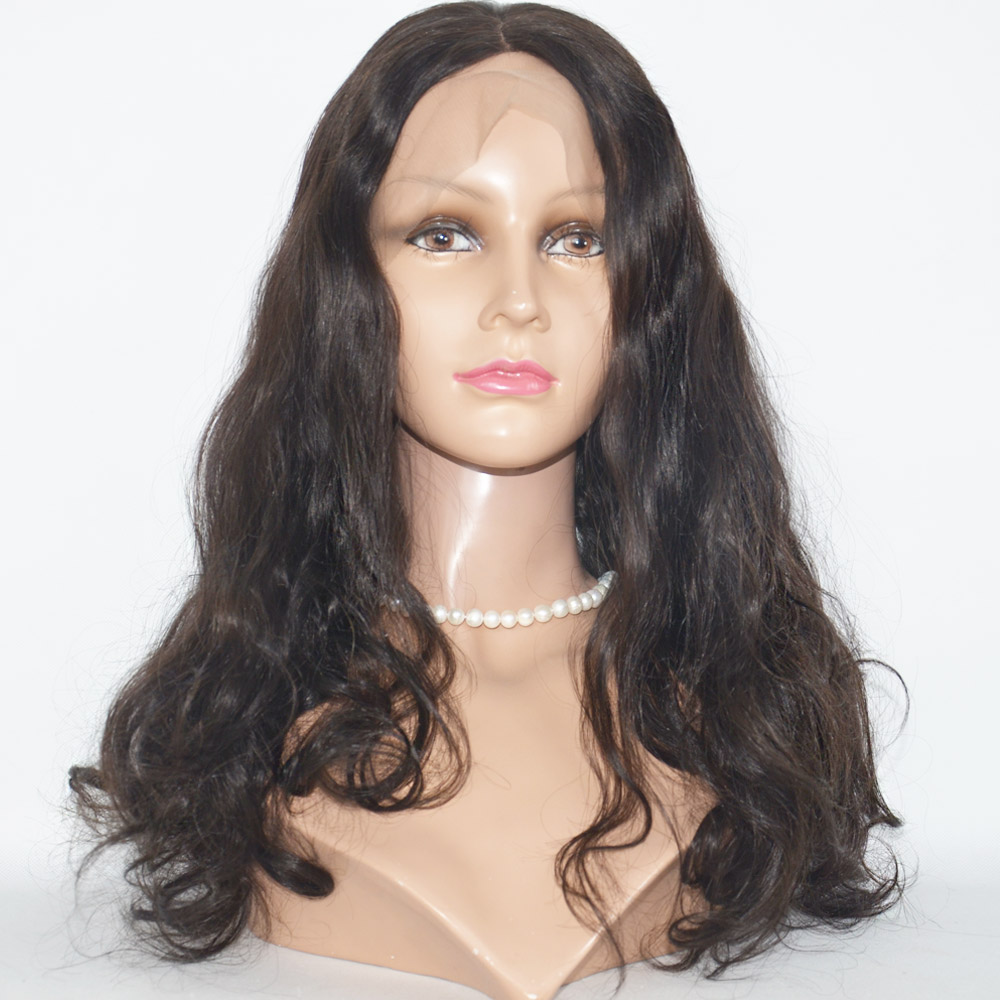 wholesale body wave brazilian virgin lace front human hair wigs