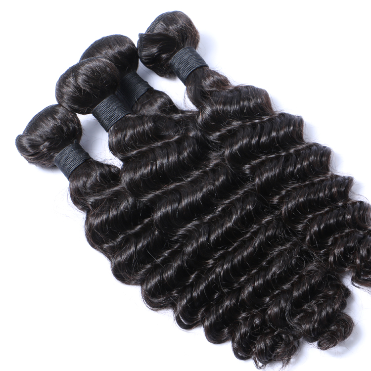 Emeda Good Quality Hair Weave Brazilian Curly Hair Extensions   LM130