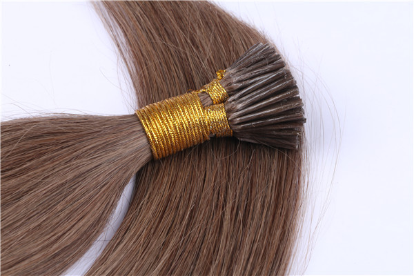 Pre- bonded Hair Extensions Supplier Sample Available Remy Human Hair Extensions  LM277