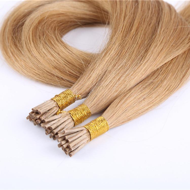 Mini I Tip Hair Extensions Wholesale European Human Hair Factory