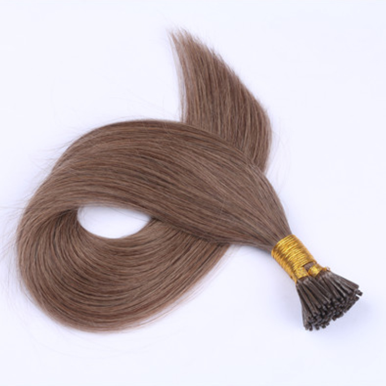 8-30 Inch Human Hair Extension Double Drawn Thickness Keratin I Tip Hair Remy Extension  LM364