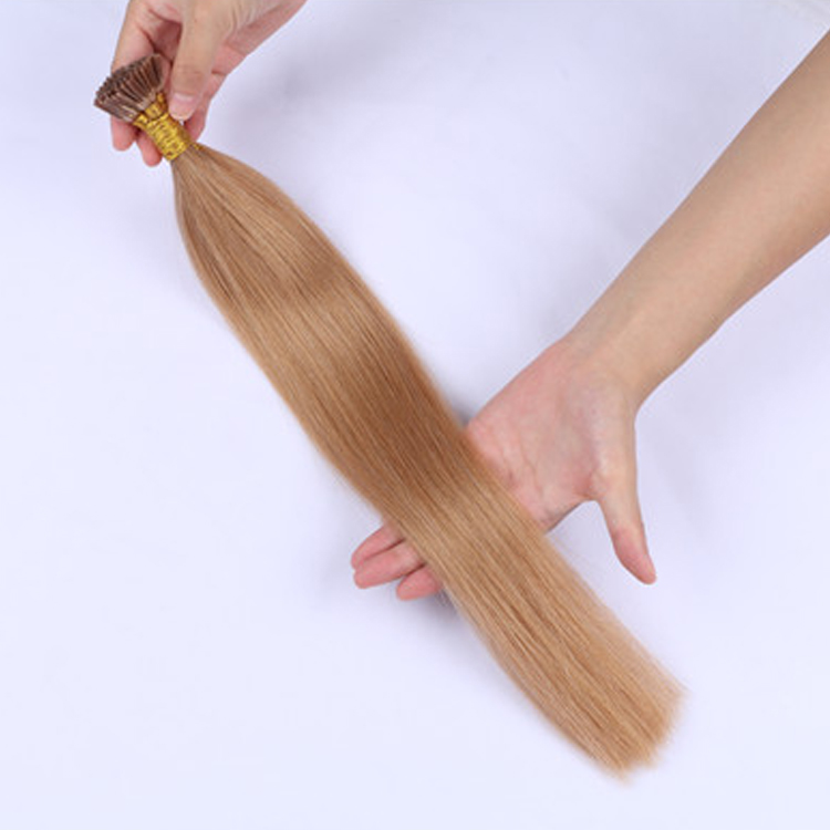 Wholesale Fusion Human Hair I Tip Hair Extensions Manufacturers Keration Hair Remy Extension  LM441