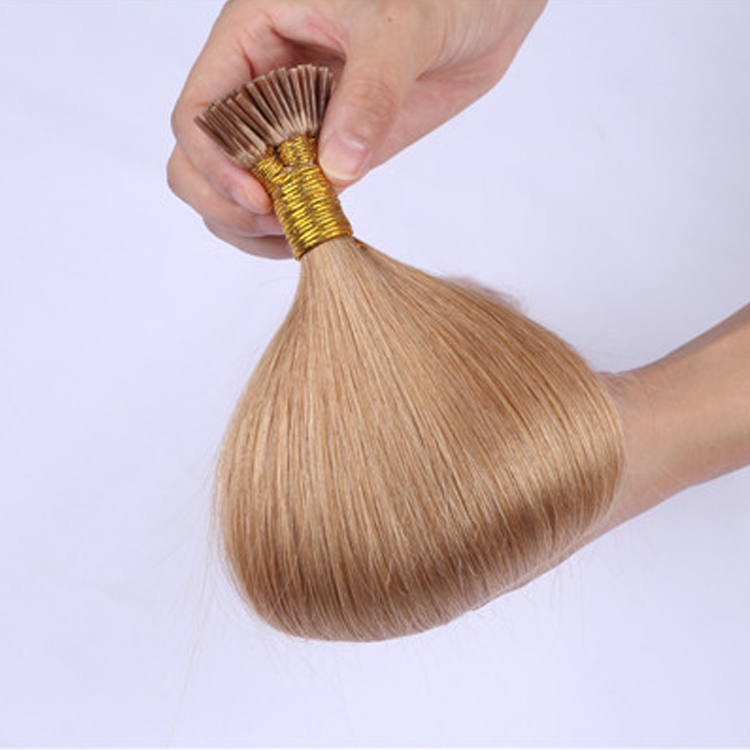 Prebonded Human Hair I Tip Made In China Wholesale Straight Smooth Extension Hair LM432
