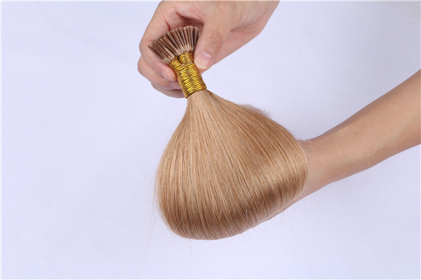 Human Hair Factory Keratin Best Hair Extensions I Tip Hair Supplier In China  LM174