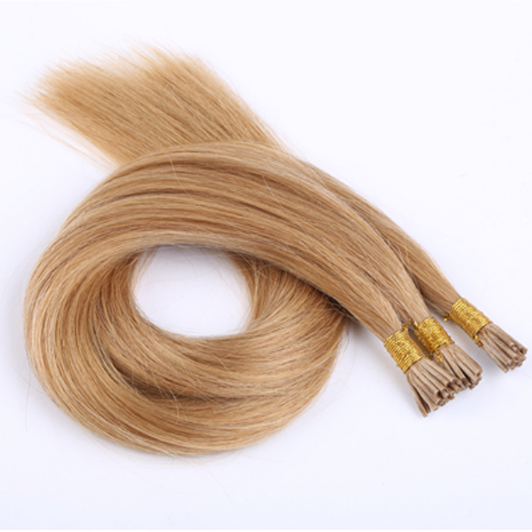 Human Hair I Tip Suppliers Top Quality Factory Price Hair Extensions Made In China LM342