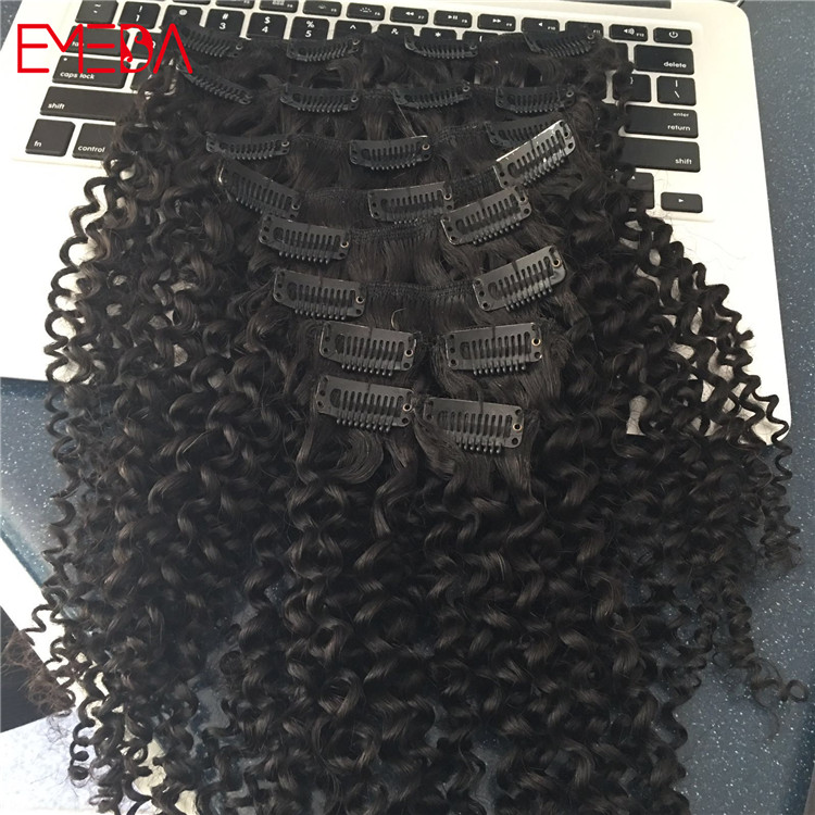 deep kinky curly clip in hair extension.jpg