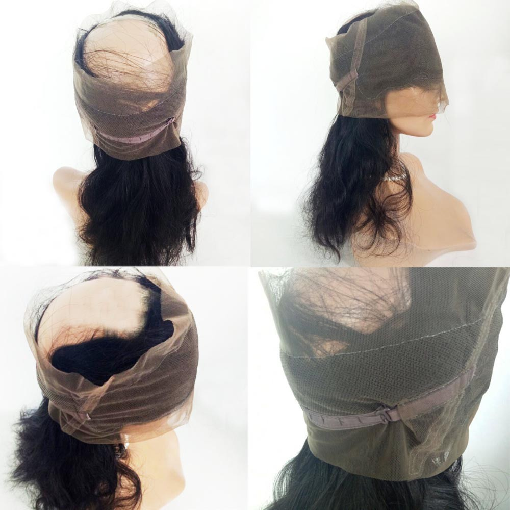 1 360 lace band frontal