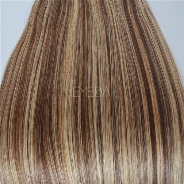 Mixed Color Peruvian Vigin Tape Hair Extensions Wholesale Yj111