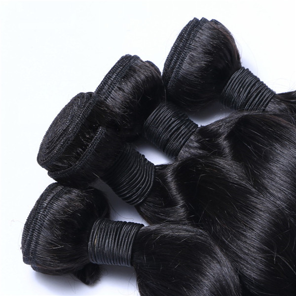 8''-30'' Loose wave virgin human Indian  hair extension    LM004