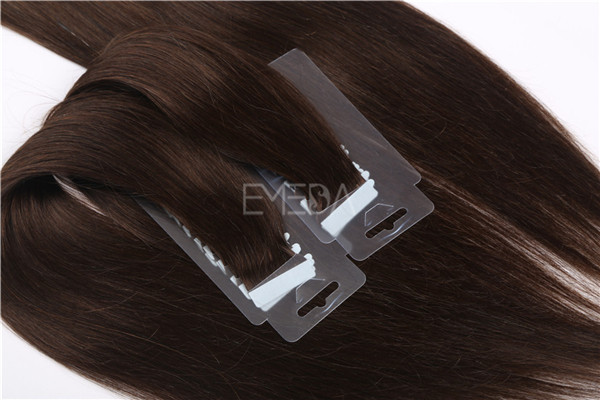 Invisible remy human hair tape hair extensions ZJ0078