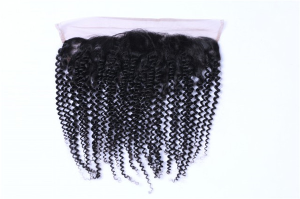 Short virgin hair bundles with lace closure XS025