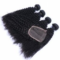 EMEDA China wholesale peruvian kinky curly virgin hair weft manufacturers QM036