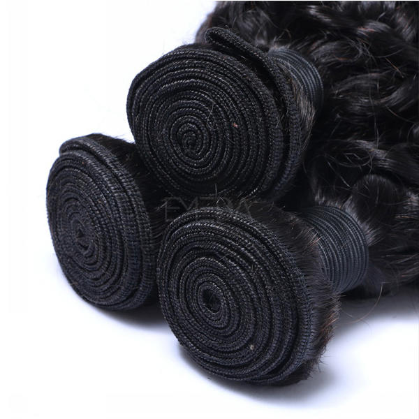 Curly remy hair extension for curly hair for black women CX063