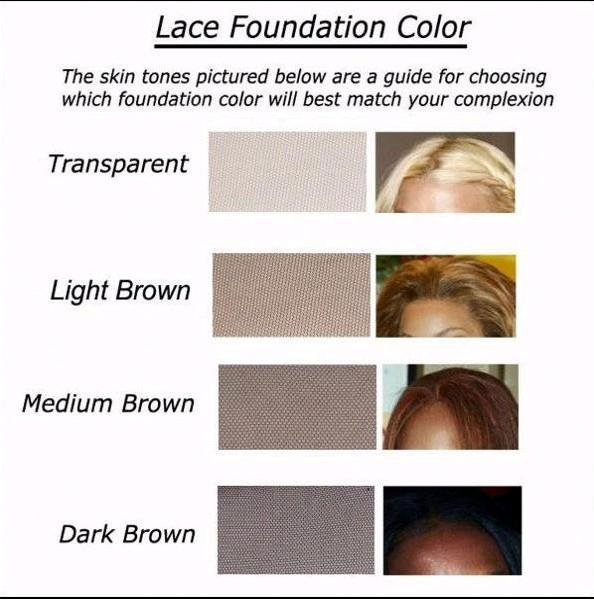 Lace closure - 12