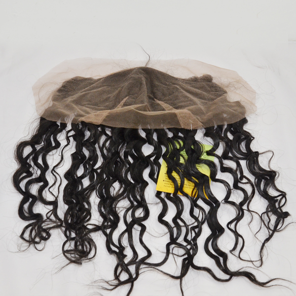 Hair extensions13X 4 lace closure  with baby hair virgin hair and wholesale price YL027