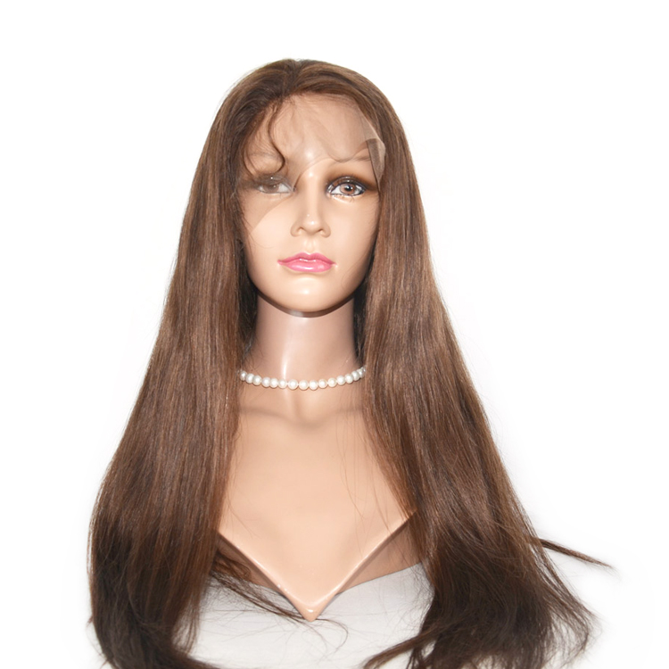 Silk Top Base Virgin Human Peruvian Full Lace Wig    LM064