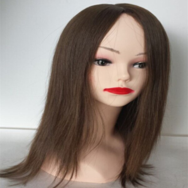 Brazilian human hair  lace wig with baby hair YL062
