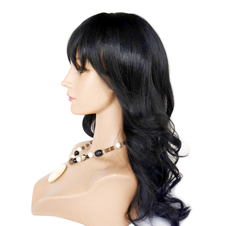Top Quality Human Hair Wig Natural Color Remy Lace Front Wig Body Wave Hair  LM209