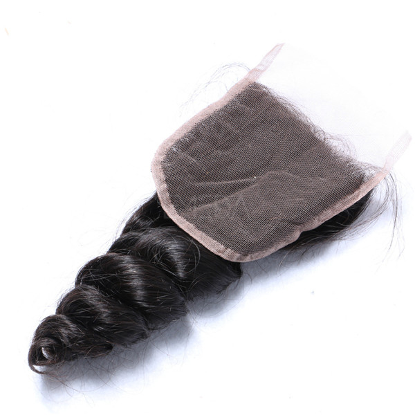 Brazilian hair closure wholesale cuticle aligned hair lace closure YL192