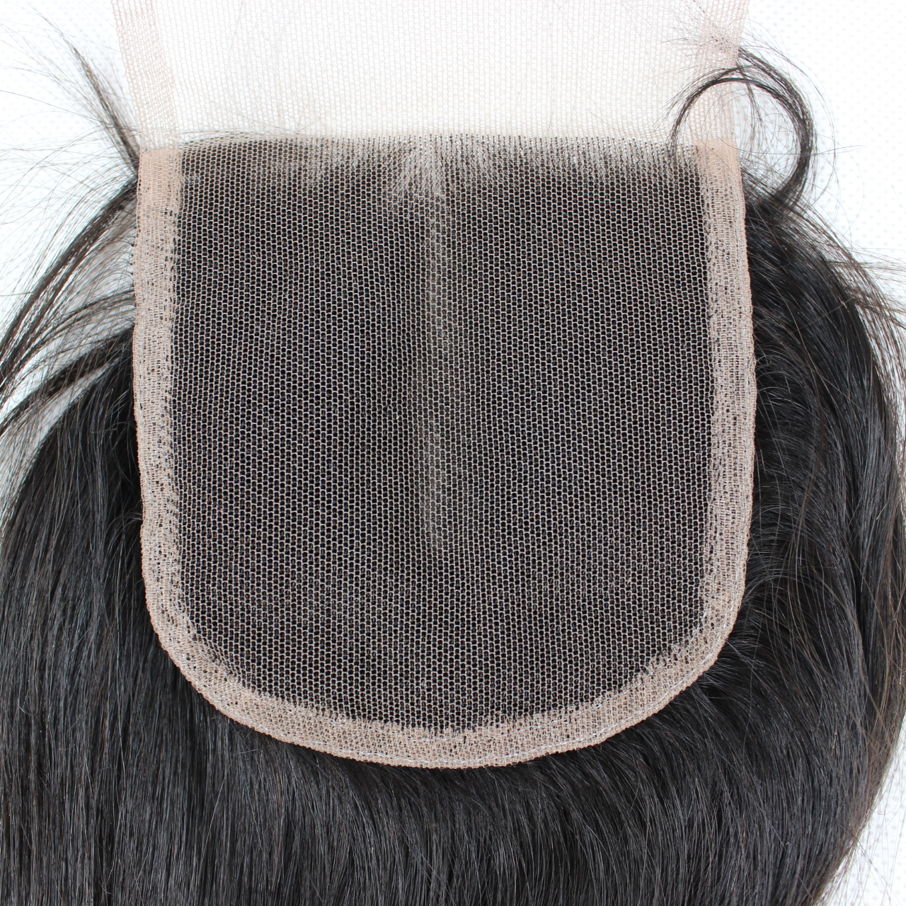 Unprocessed Virgin Human Hair  Lace Top Closure 4*4 inch factory price and in stock YL243