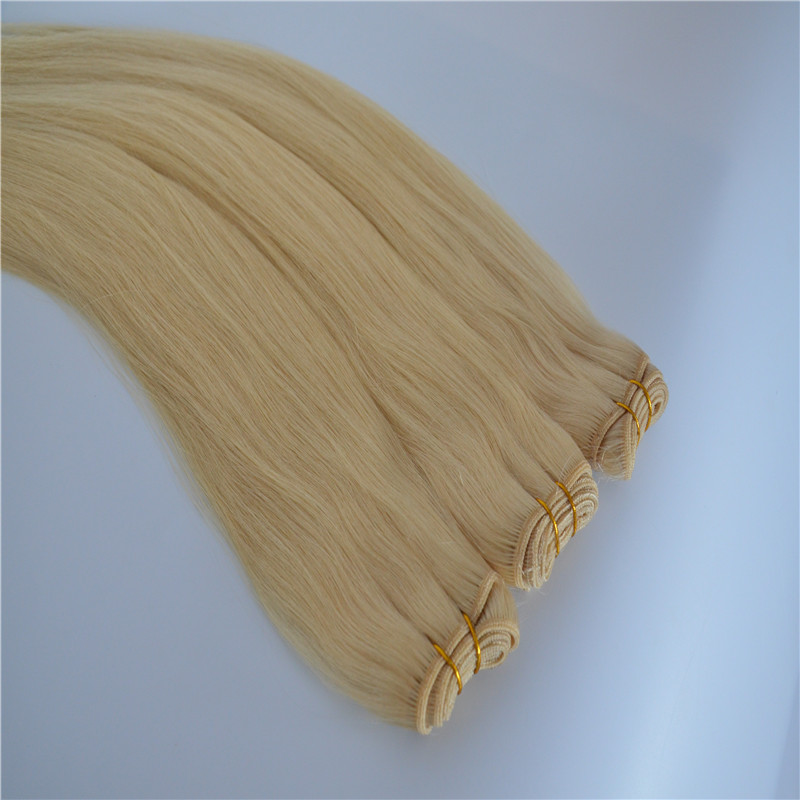 Australia popular hair extension hair bundle with light color WK040