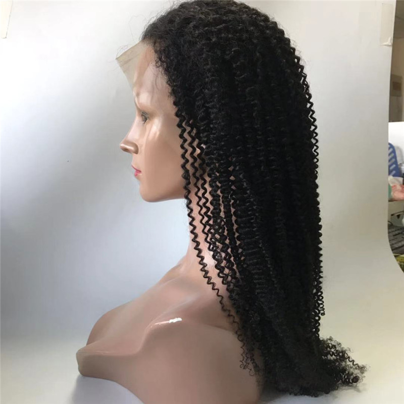 Kinky Curly Full Lace Wig 150 Density Very Thick Hair WK107