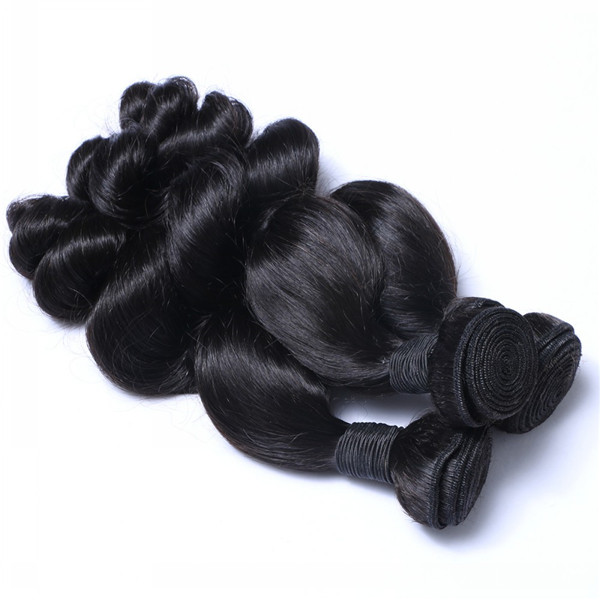 Virgin hot sale human Brazilian loose wave  extensions       LM012