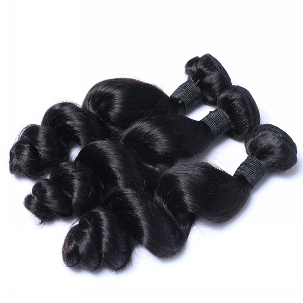 Brazilian Hair Weave Top Grade Human Hair Weft Factory Professional Manufacture Bundles  LM233
