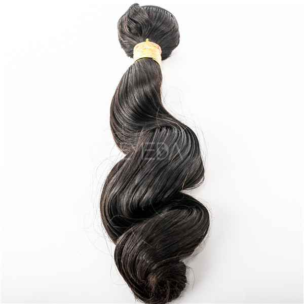 virgin remy loose wave european hair extensions YJ60