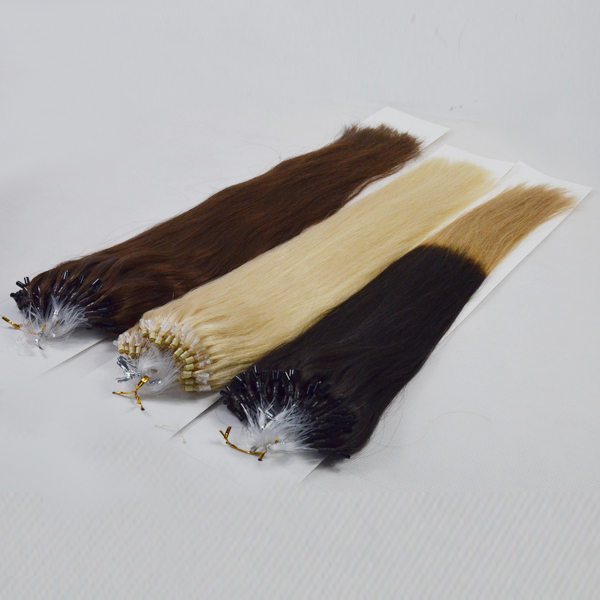 Wholesale Remy Hair Extensions Technological Micro Loop Hair Extensions   LM075