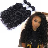 EMEDA malaysian virgin remy natural deep curly hair weave bundles QM003