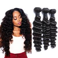 EMEDA Deep wave hair human hair weft deep curly Virgin Malaysian Hair HW050