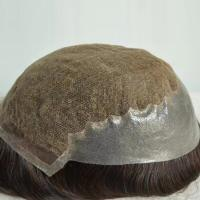 High quality realistic toupee of today cost SJ00166