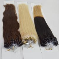Wholesale best sell micro ring loop 100 human hair extension WJ031