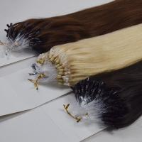 Ombre color micro bead human hair extensions  LJ69