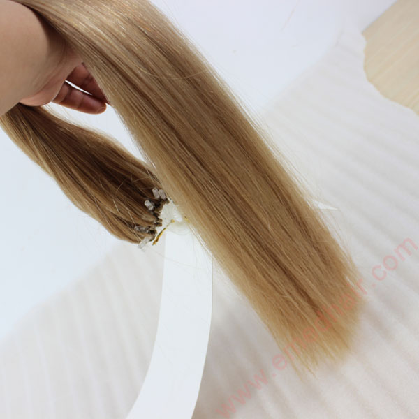 China Hair Extension Wholesale Remy Human Hair Micro Beads For Hair Extension Factory  LM393