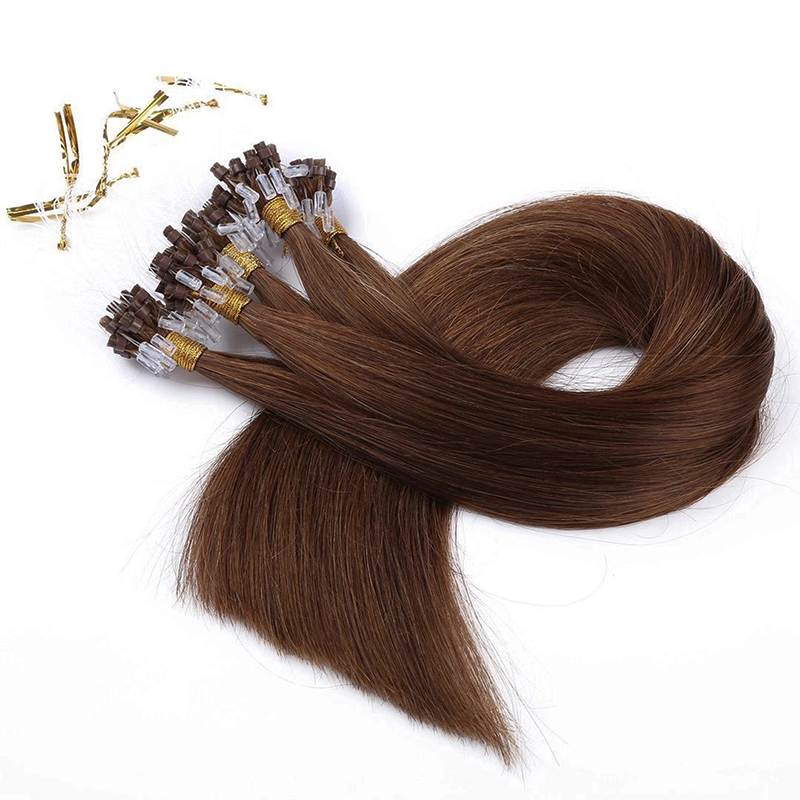 micro wing hair , i tips hair , clip in hair extensions factory price YL442