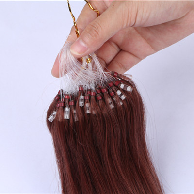 Micro loop hair extensions,100% raw indian hair wholesale,Indian micro loop hair extensions,raw hair extension human HN236