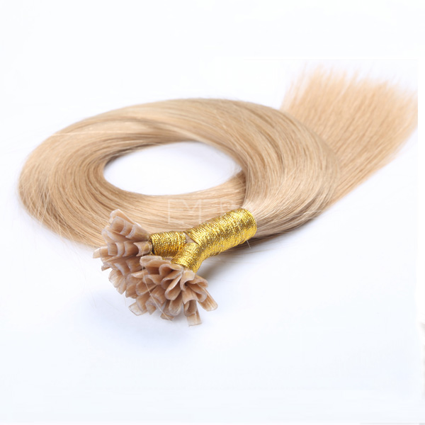 Wholesale Nail-Tip Hair Extensions 24 Inch China Keratin Human Hair Extension Factory  LM344