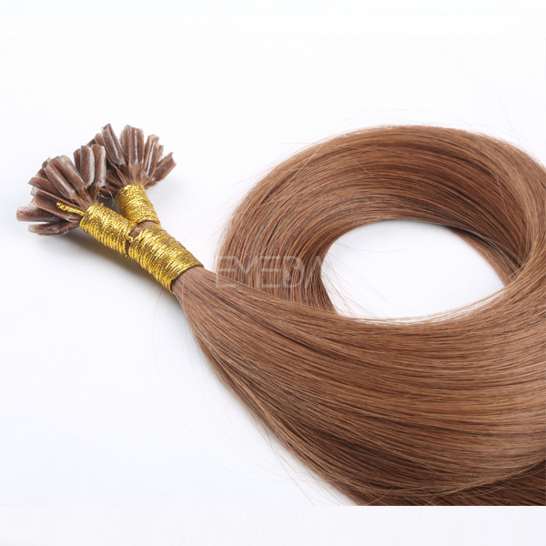 Remy Keratin Hair Human Hair Extensions Accept Customized   LM090