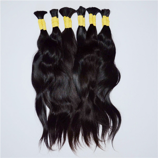Natural straight Indian hair hair bulk JL12