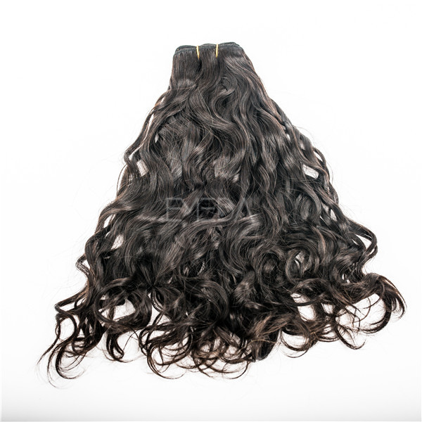 16 inch natural wave Indian hair extension salons popular YJ61