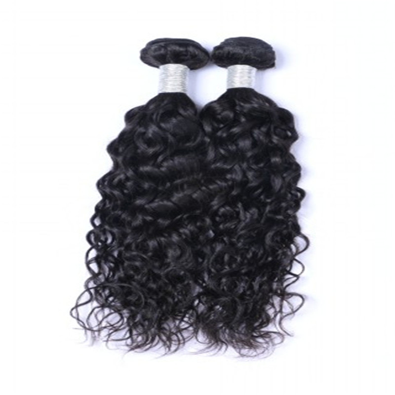 Double drawn Indian natural wave best remy hair extensions to buy WK136