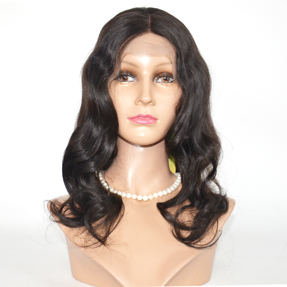 Whole sale Mongolian curly wig,hand tied silk top wig,100 % brazilian human hair wigHN304