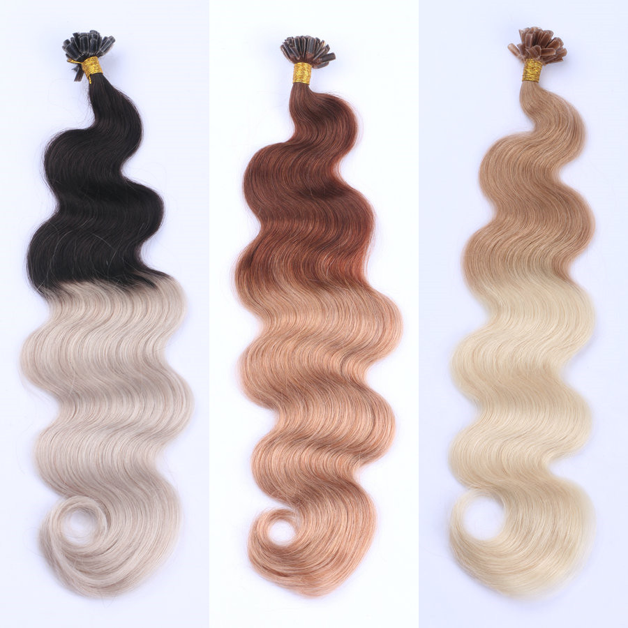 Russian ombre hair extension remy hair DL0009