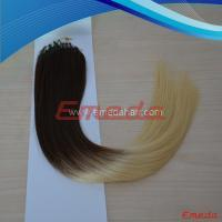 ombre micro loop ring hair extension